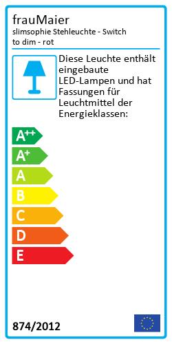 slimsophie StehleuchteEnergy Label