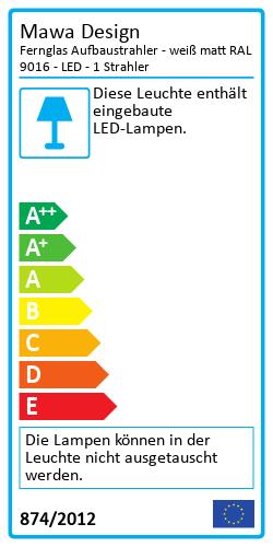 Fernglas AufbaustrahlerEnergy Label